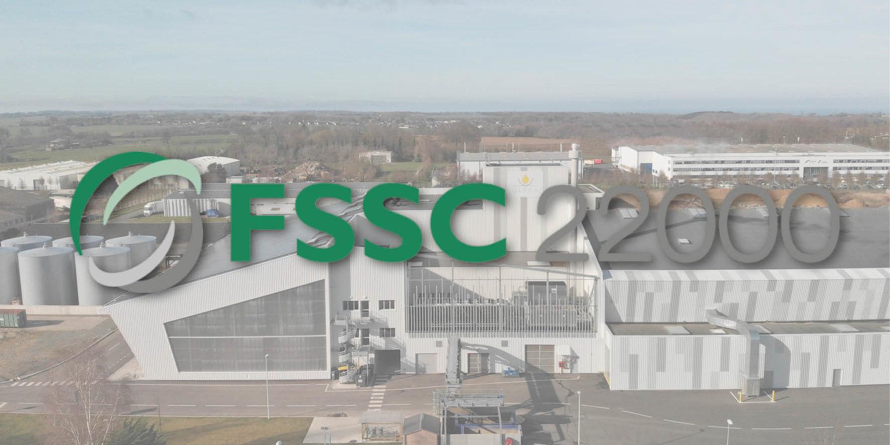 OLVEA Green Technologies est désormais certifiée selon le standard FSSC 22 000 1