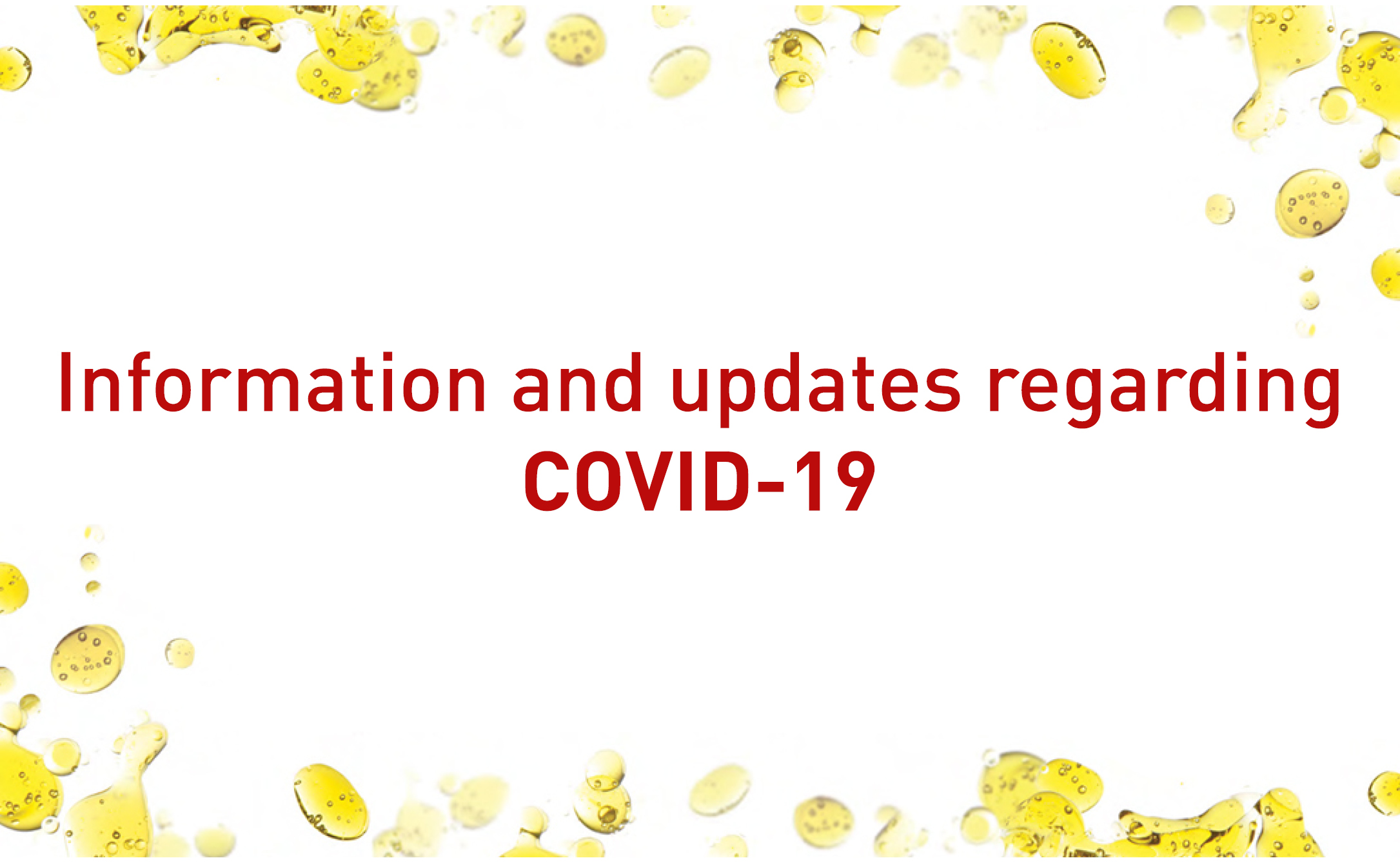 Informations : COVID-19 1