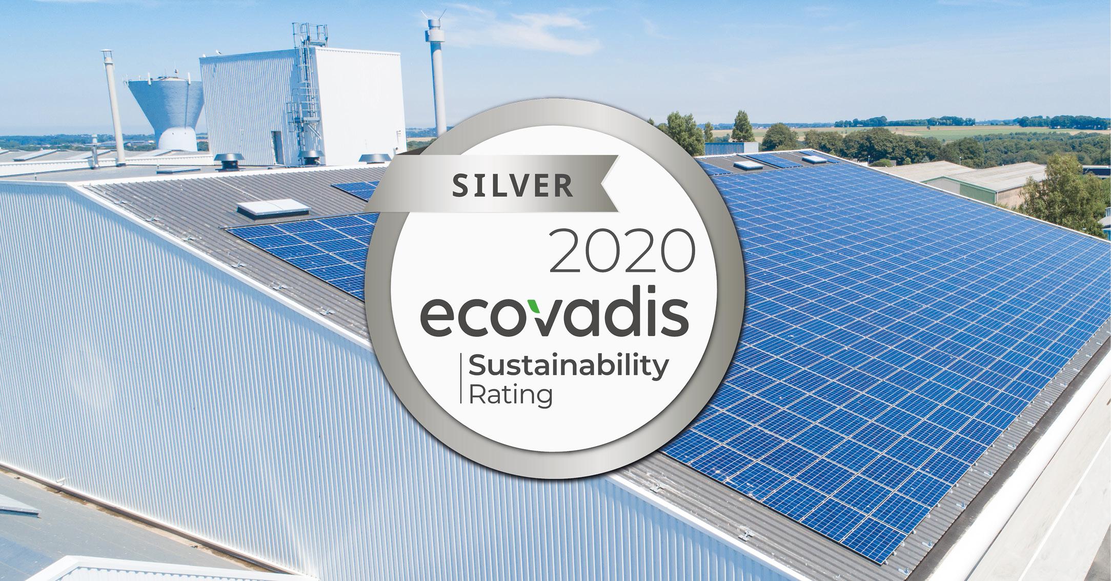 "OLVEA Green Technologies a obtenu le statut ""Silver"" d'Ecovadis ! 1"