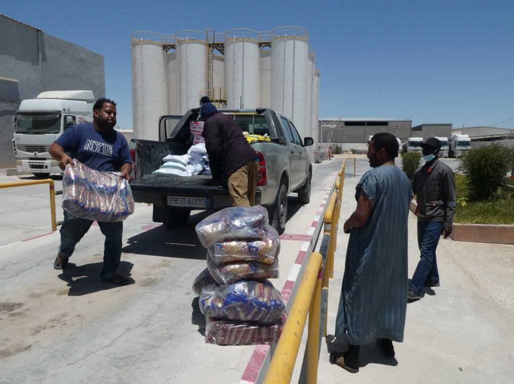 MauritaVie – Distribution de paniers solidaires